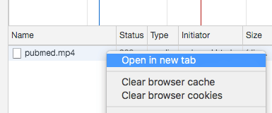 Open in new tab on Chrome