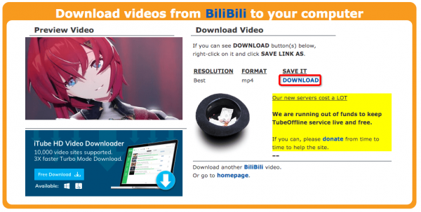 download bilibili video online 02