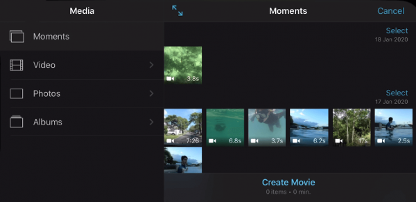 putting a youtube video in imovie