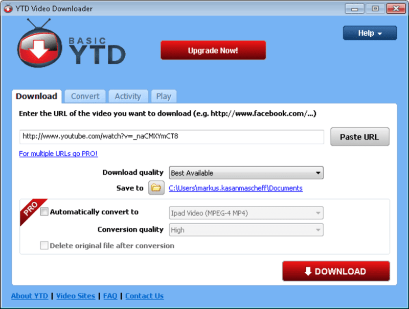 download videos from youku pc