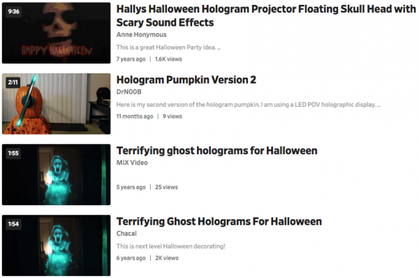 Where And How To Free Download Halloween Hologram Videos In 2020 Ifunia