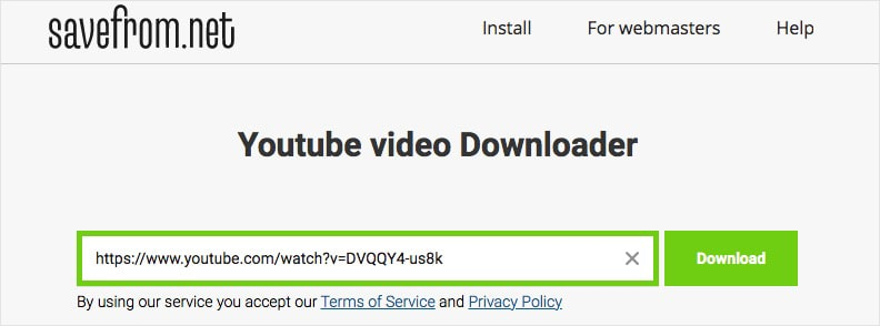 download youtube videos online free without software savefrom.net 01