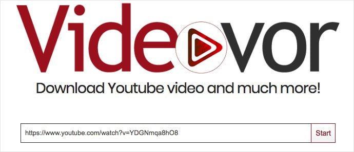download youtube videos without software videovor 01