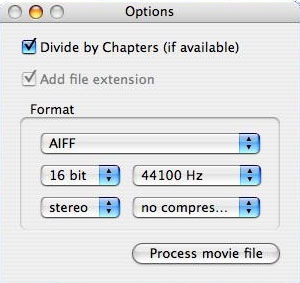 Rip audio tracks from your DVDs with  Handbrake on Mac