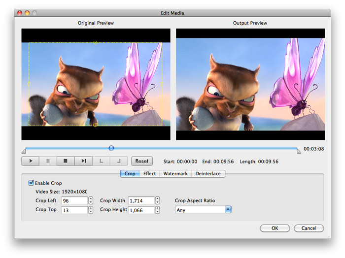 Convert FLV to FCP on Mac - Edit