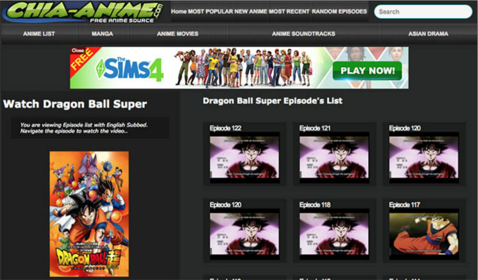 wathch and download dragon ball super episodes from chia anime