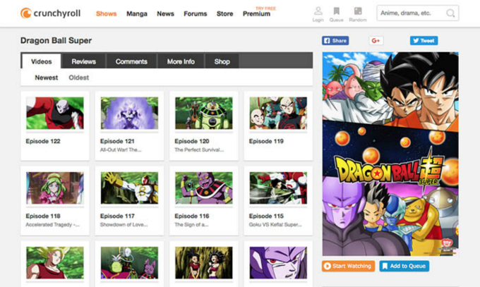 Where and How to Download Dragon Ball Super Episodes in