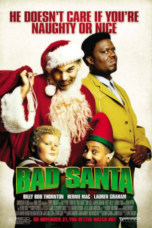bad santa - Best Netflix Christmas Movies