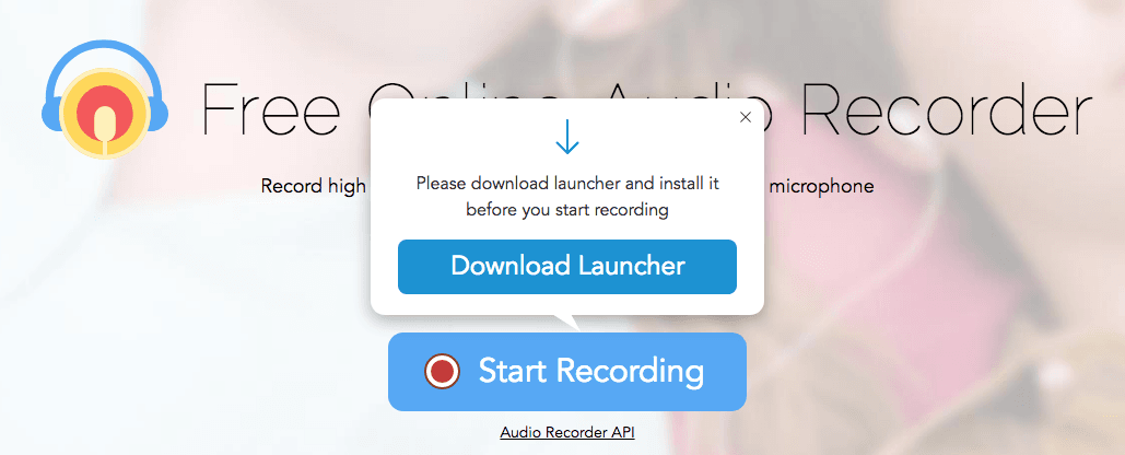 Capture YouTube audio with free online audio recorder