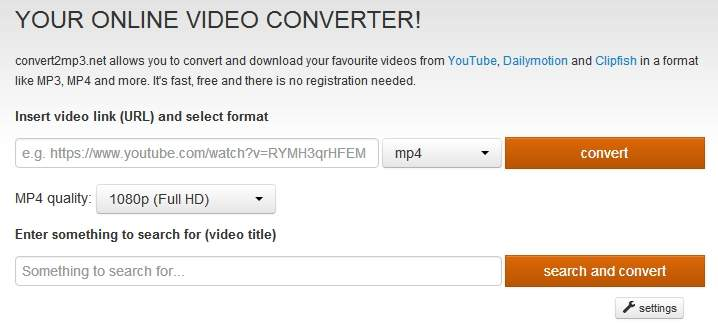 clipconverter alternative convert2mp3