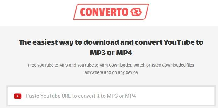 converto youtubeinmp4 alternative