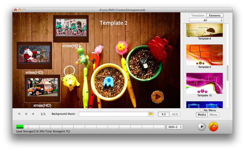 How to create an iso disc image on mac os x ifunia blog for Dvd flick menu templates