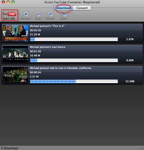 Import the YouTube Video to Kindle Fire for Playback.